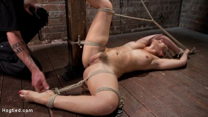 Photo number 5 from Dani Daniels in Brutal Bondage, Tormented, and Made to Cum Uncontrollably. shot for Hogtied on Kink.com. Featuring Dani Daniels and The Pope in hardcore BDSM & Fetish porn.