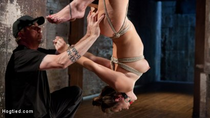 Photo number 11 from Dani Daniels in Brutal Bondage, Tormented, and Made to Cum Uncontrollably. shot for Hogtied on Kink.com. Featuring Dani Daniels and The Pope in hardcore BDSM & Fetish porn.