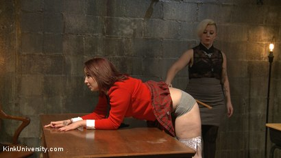 Photo number 12 from Dirty Talk shot for Kink University on Kink.com. Featuring Piper Rage and Tina Horn in hardcore BDSM & Fetish porn.