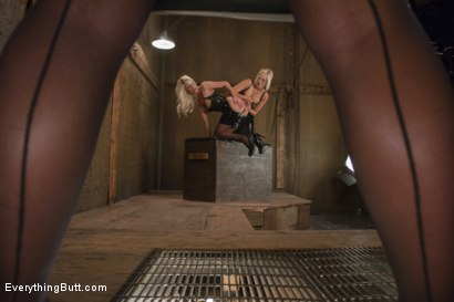 Photo number 1 from Part 1 Teaser. Kate England and Riley Jenner meet Phoenix Marie shot for Everything Butt on Kink.com. Featuring Riley Jenner, Kate England and Phoenix Marie in hardcore BDSM & Fetish porn.