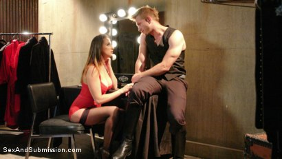Photo number 2 from The Director's Cut shot for Sex And Submission on Kink.com. Featuring Ashley Adams and Bill Bailey in hardcore BDSM & Fetish porn.