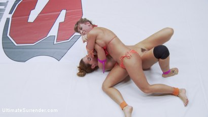 Photo number 8 from two hard body champions fight for the ultimate form of control shot for Ultimate Surrender on Kink.com. Featuring Savannah Fox, Ariel X and Syd Blakovich in hardcore BDSM & Fetish porn.