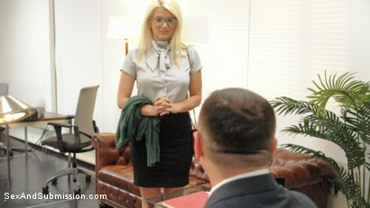 Photo number 1 from Submissive Secretary Does Double Penetration Duty shot for Sex And Submission on Kink.com. Featuring John Strong, Seth Gamble and Layla Price in hardcore BDSM & Fetish porn.