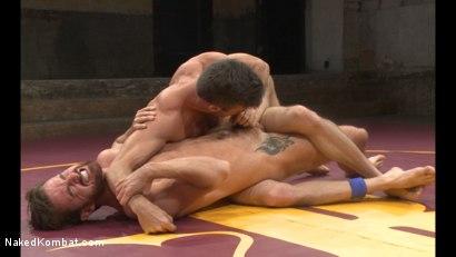 Photo number 7 from Lance Hart vs Brendan Patrick shot for Naked Kombat on Kink.com. Featuring Lance Hart and Brendan Patrick in hardcore BDSM & Fetish porn.