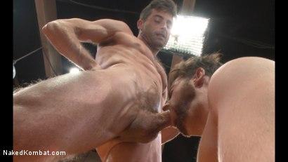 Photo number 10 from Lance Hart vs Brendan Patrick shot for Naked Kombat on Kink.com. Featuring Lance Hart and Brendan Patrick in hardcore BDSM & Fetish porn.