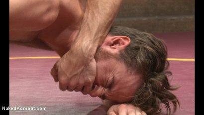 Photo number 9 from Lance Hart vs Brendan Patrick shot for Naked Kombat on Kink.com. Featuring Lance Hart and Brendan Patrick in hardcore BDSM & Fetish porn.