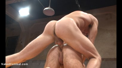 Photo number 13 from Lance Hart vs Brendan Patrick shot for Naked Kombat on Kink.com. Featuring Lance Hart and Brendan Patrick in hardcore BDSM & Fetish porn.