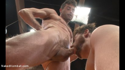 Photo number 10 from Lance Hart vs Brendan Patrick shot for Naked Kombat on Kink.com. Featuring Lance Hart and Brendan Patrick in hardcore BDSM & Fetish porn.
