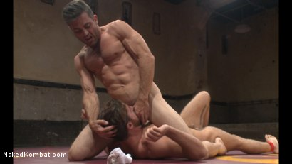 Photo number 5 from Lance Hart vs Brendan Patrick shot for Naked Kombat on Kink.com. Featuring Lance Hart and Brendan Patrick in hardcore BDSM & Fetish porn.