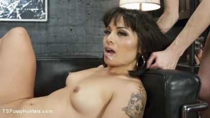 Photo number 11 from Curiosity of Bondage Leads to hot TS clerk fucking your brains out shot for TS Pussy Hunters on Kink.com. Featuring Kelly Klaymour and Milcah Halili in hardcore BDSM & Fetish porn.