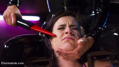 Photo number 2 from The Debt Collector  shot for Electro Sluts on Kink.com. Featuring Freya French and Mona Wales in hardcore BDSM & Fetish porn.