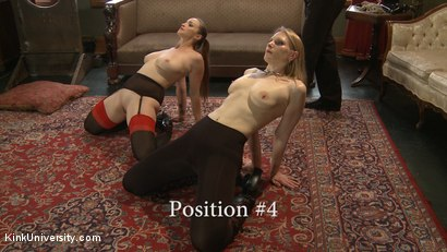 Photo number 16 from Position Training: Advanced shot for Kink University on Kink.com. Featuring Shay Tiziano, Maestro Stefanos and Bella Rossi in hardcore BDSM & Fetish porn.