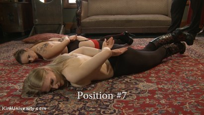 Photo number 19 from Position Training: Advanced shot for Kink University on Kink.com. Featuring Shay Tiziano, Maestro Stefanos and Bella Rossi in hardcore BDSM & Fetish porn.