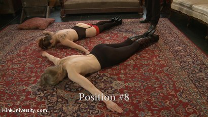 Photo number 20 from Position Training: Advanced shot for Kink University on Kink.com. Featuring Shay Tiziano, Maestro Stefanos and Bella Rossi in hardcore BDSM & Fetish porn.