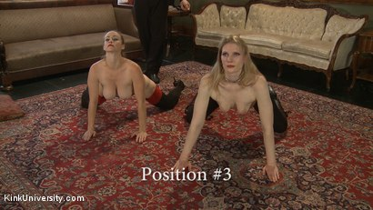 Photo number 15 from Position Training: Advanced shot for Kink University on Kink.com. Featuring Shay Tiziano, Maestro Stefanos and Bella Rossi in hardcore BDSM & Fetish porn.