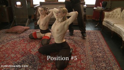 Photo number 17 from Position Training: Advanced shot for Kink University on Kink.com. Featuring Shay Tiziano, Maestro Stefanos and Bella Rossi in hardcore BDSM & Fetish porn.