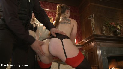 Photo number 3 from Position Training: Advanced shot for Kink University on Kink.com. Featuring Shay Tiziano, Maestro Stefanos and Bella Rossi in hardcore BDSM & Fetish porn.