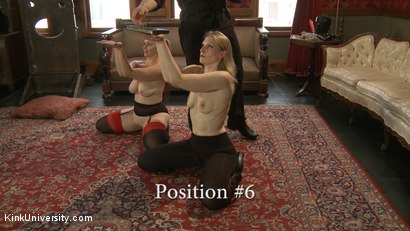 Photo number 18 from Position Training: Advanced shot for Kink University on Kink.com. Featuring Shay Tiziano, Maestro Stefanos and Bella Rossi in hardcore BDSM & Fetish porn.