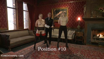 Photo number 24 from Position Training: Advanced shot for Kink University on Kink.com. Featuring Shay Tiziano, Maestro Stefanos and Bella Rossi in hardcore BDSM & Fetish porn.