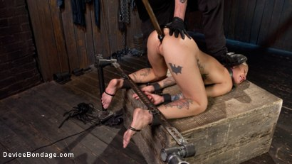 Photo number 12 from Her Submission shot for Device Bondage on Kink.com. Featuring Kleio Valentien and The Pope in hardcore BDSM & Fetish porn.