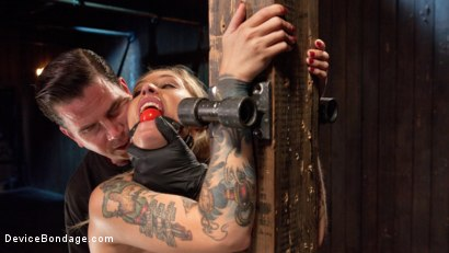 Photo number 15 from Her Submission shot for Device Bondage on Kink.com. Featuring Kleio Valentien and The Pope in hardcore BDSM & Fetish porn.