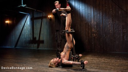 Photo number 5 from Her Submission shot for Device Bondage on Kink.com. Featuring Kleio Valentien and The Pope in hardcore BDSM & Fetish porn.