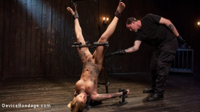 Photo number 6 from Her Submission shot for Device Bondage on Kink.com. Featuring Kleio Valentien and The Pope in hardcore BDSM & Fetish porn.
