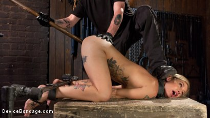 Photo number 10 from Her Submission shot for Device Bondage on Kink.com. Featuring Kleio Valentien and The Pope in hardcore BDSM & Fetish porn.