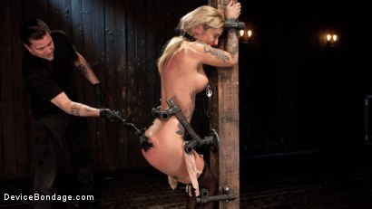 Photo number 2 from Her Submission shot for Device Bondage on Kink.com. Featuring Kleio Valentien and The Pope in hardcore BDSM & Fetish porn.