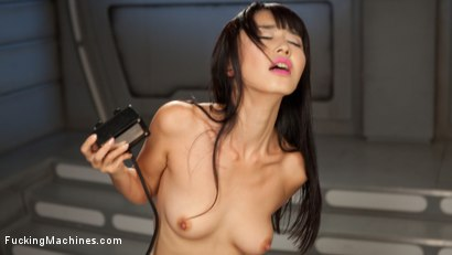 Photo number 4 from Asian Bombshell First Timer on Fucking Machines!!! shot for Fucking Machines on Kink.com. Featuring Marica Hase in hardcore BDSM & Fetish porn.