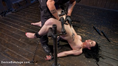 Photo number 13 from Painful Ecstasy with Squirting Orgasms!!! shot for Device Bondage on Kink.com. Featuring Veruca James and The Pope in hardcore BDSM & Fetish porn.