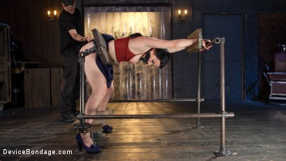 Photo number 2 from Painful Ecstasy with Squirting Orgasms!!! shot for Device Bondage on Kink.com. Featuring Veruca James and The Pope in hardcore BDSM & Fetish porn.