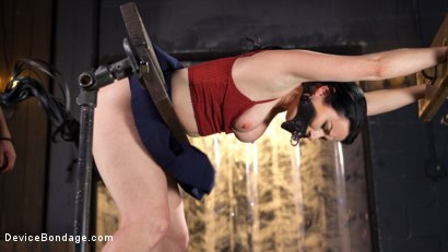 Photo number 3 from Painful Ecstasy with Squirting Orgasms!!! shot for Device Bondage on Kink.com. Featuring Veruca James and The Pope in hardcore BDSM & Fetish porn.