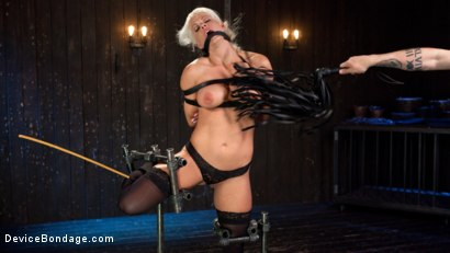 Photo number 10 from Welcome Home Slut!! shot for Device Bondage on Kink.com. Featuring Holly Heart and The Pope in hardcore BDSM & Fetish porn.