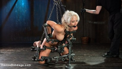 Photo number 6 from Welcome Home Slut!! shot for Device Bondage on Kink.com. Featuring Holly Heart and The Pope in hardcore BDSM & Fetish porn.