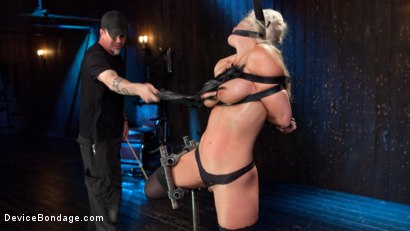 Photo number 8 from Welcome Home Slut!! shot for Device Bondage on Kink.com. Featuring Holly Heart and The Pope in hardcore BDSM & Fetish porn.