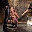 Anal bondage girl Savannah Fox needs double penetration fucking to satisfy her pussy