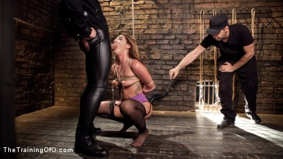 Photo number 2 from Big Ass Double Penetration Squirting Bondage Slave, Savannah Fox shot for The Training Of O on Kink.com. Featuring Savannah Fox and Alex Legend in hardcore BDSM & Fetish porn.