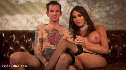 Photo number 1 from The Widow Walks: Debut of Jonelle Brooks, the Ultimate Femme Fatale shot for TS Seduction on Kink.com. Featuring Will Havoc and Jonelle Brooks in hardcore BDSM & Fetish porn.