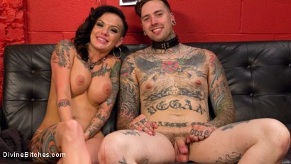 Photo number 9 from Punk Rock Foot Goddess: Mistress Lola Luscious shot for Divine Bitches on Kink.com. Featuring Lola Luscious and Ruckus in hardcore BDSM & Fetish porn.