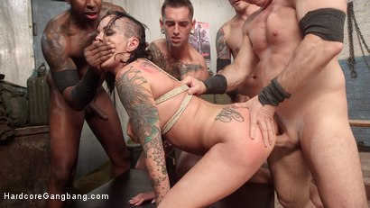 Photo number 9 from Secret Weapon 69: Dick Grip shot for Hardcore Gangbang on Kink.com. Featuring Lola Luscious, John Strong, Astral Dust, Jon Jon, Gage Sin and Mr. Pete in hardcore BDSM & Fetish porn.