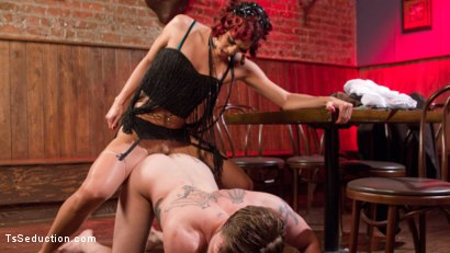 Photo number 4 from Kendra Sinclaire demands to fuck and get fucked! shot for TS Seduction on Kink.com. Featuring Mike Panic and Kendra Sinclaire in hardcore BDSM & Fetish porn.