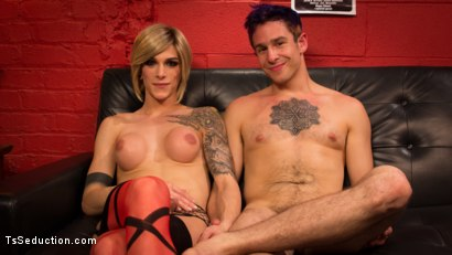 Photo number 8 from Rammed at the Record Store shot for TS Seduction on Kink.com. Featuring Nina Lawless and Corbin Dallas in hardcore BDSM & Fetish porn.