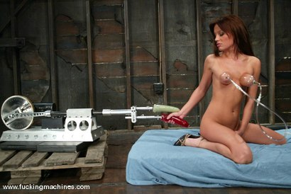 Photo number 6 from Holly Wellin shot for Fucking Machines on Kink.com. Featuring Holly Wellin in hardcore BDSM & Fetish porn.