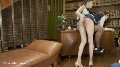 Photo number 4 from Mistress Kara is a hot Milf Librarian who will Punish misbehavers shot for TS Pussy Hunters on Kink.com. Featuring Stefani Special and Mistress Kara in hardcore BDSM & Fetish porn.