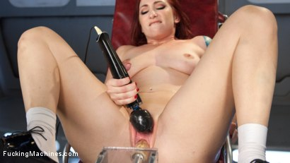 Photo number 2 from Feeding Her Insatiable Appetite with Machine Fucking!! shot for Fucking Machines on Kink.com. Featuring Sophia Locke in hardcore BDSM & Fetish porn.