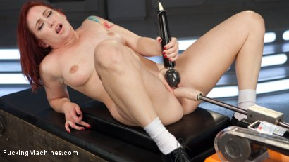 Photo number 6 from Feeding Her Insatiable Appetite with Machine Fucking!! shot for Fucking Machines on Kink.com. Featuring Sophia Locke in hardcore BDSM & Fetish porn.