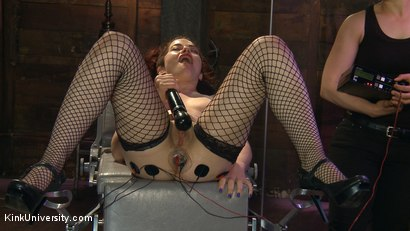 Photo number 11 from E-Stim 101: Introduction to Electrosex shot for Kink University on Kink.com. Featuring Fivestar and Ingrid Mouth in hardcore BDSM & Fetish porn.