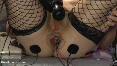 Photo number 16 from E-Stim 101: Introduction to Electrosex shot for Kink University on Kink.com. Featuring Fivestar and Ingrid Mouth in hardcore BDSM & Fetish porn.