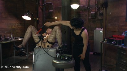 Photo number 14 from E-Stim 101: Introduction to Electrosex shot for Kink University on Kink.com. Featuring Fivestar and Ingrid Mouth in hardcore BDSM & Fetish porn.